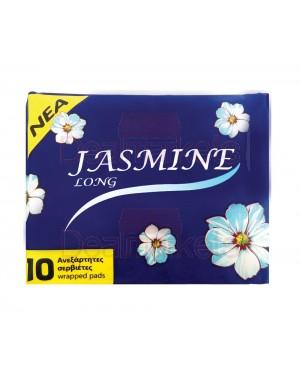 Σερβιέτες Jasmine Long 10τεμ