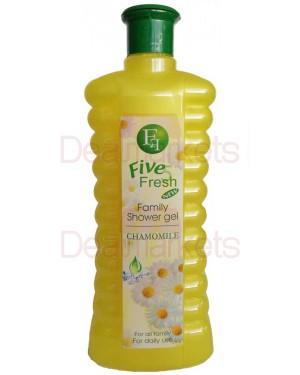 Αφρόλουτρο Five Fresh με χαμομήλι 1L