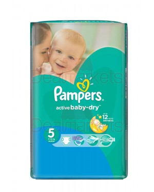 Pampers πάνες active baby dry no 5 (11 τεμ)