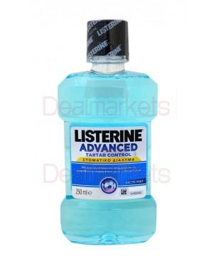 Listerine στοματικό διάλυμα advanced tartar control 250ml (ελλ.)