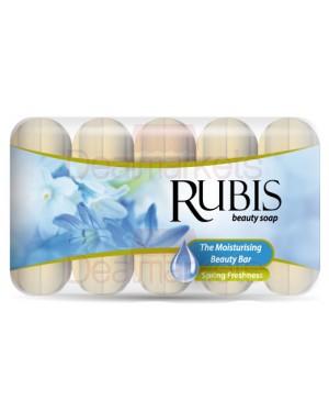 Rubis σαπούνι spring freshness 6 * 50 gr