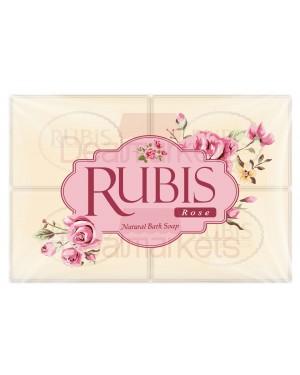 Rubis σαπούνι rose 4 * 125 gr