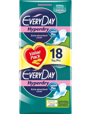 Everyday σερβιέτες sens.ultra plus normal 18τεμ