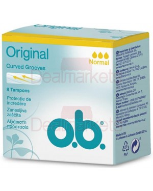 O.b. ταμπόν normal 8τ (εισ.)