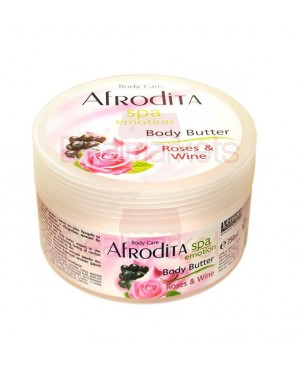 Afrodita Spa Body Butter Τριαντάφυλλο 350ml
