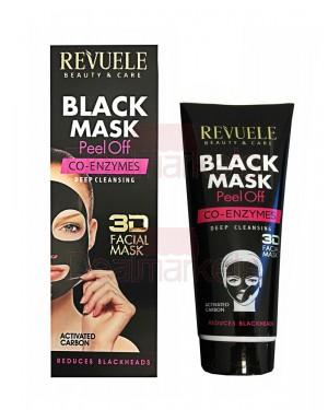 Μάσκα απολέπισης μαύρη Revuele Coenzyme 80ml