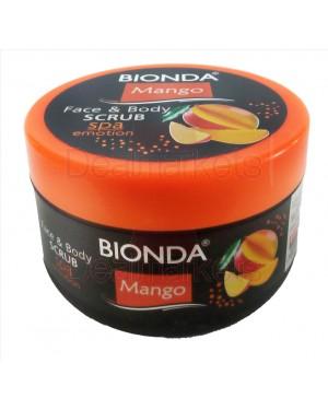 Bionda scrub σώματος και προσώπου mango 350ml