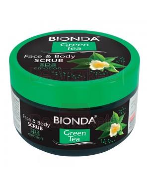 Bionda scrub σώματος και προσώπου green tea 350ml