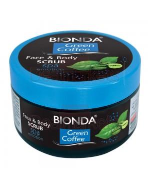 Bionda scrub σώματος και προσώπου green coffee 350ml