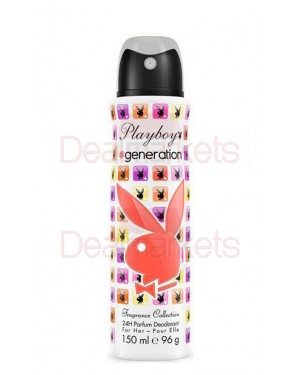 Spray γυναίκειο Playboy Generation Deo 150ml
