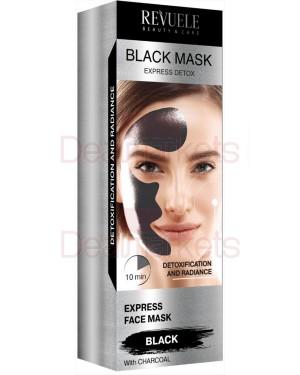 Μάσκα Revuele Express Detox μαύρη 80ml