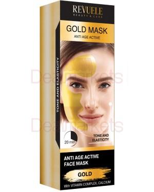 Μάσκα αντιγηραντική Revuele χρυσή 80ml
