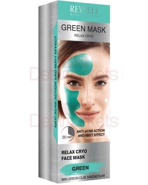 Μάσκα κατά της ακμής Revuele πράσινη 80ml