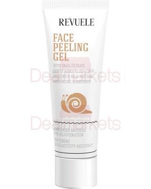 Gel προσώπου Revuele Peeling με σαλιγκάρι 80ml