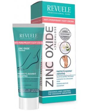 Revuele zinc oxide κρέμα ποδιών ενάντια στην έντονη εφίδρωση 80ml