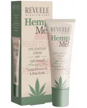 Revuele hemp me! κρέμα ματιών αμυγδαλέλαιο και κάνναβη 35ml
