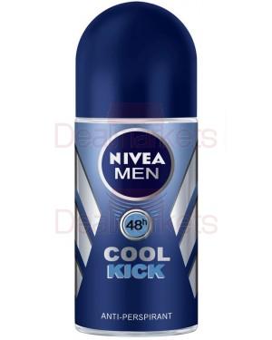 Nivea roll-on men cool kick 50ml (εισ.)