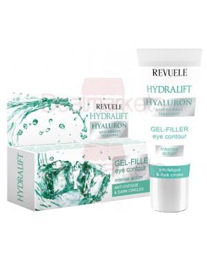 Revuele hydralift gel υαλουρονικού για κουρασμένα μάτια 25ml