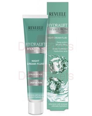 Revuele hydralift κρέμα νύχτας με υαλουρονικό 50ml