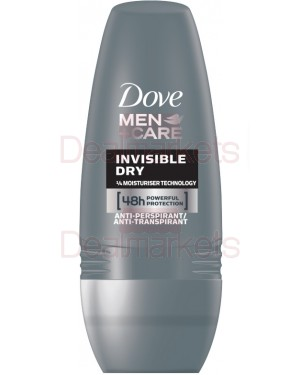 Dove roll-on men + care invisible dry 50ml