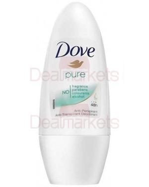 Dove roll-on pure 50ml