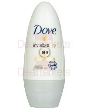 Dove roll-on invisible dry 0% αλκοόλ 48h women 50ml (εισ.)