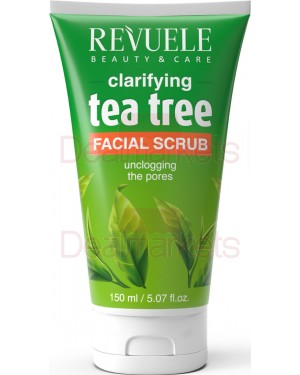 Revuele scrub προσώπου tea tree clarifying 150ml
