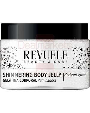 Revuele shimmering silver body jelly 400ml