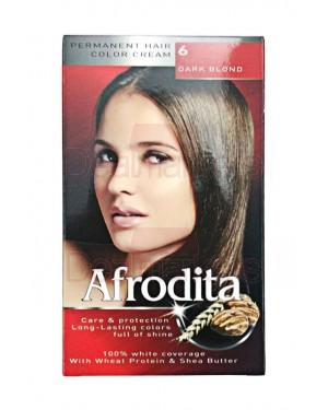 Afrodita βαφή μαλλιών 06 (ξανθό σκούρο)