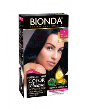 Βαφή μαλλιών μόνιμη Bionda Professional No2