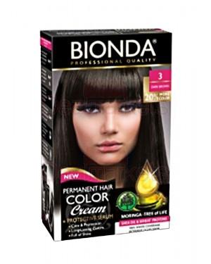 Βαφή μαλλιών μόνιμη Bionda Professional No3