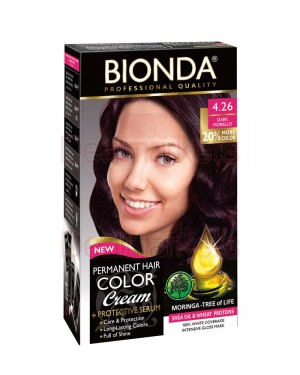 Βαφή μαλλιών μόνιμη Bionda Professional No4.26