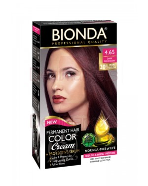 Bionda professional βαφή μαλλιών 4.65 (σκούρο μαόνι)