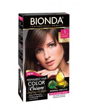 Βαφή μαλλιών μόνιμη Bionda Professional No5