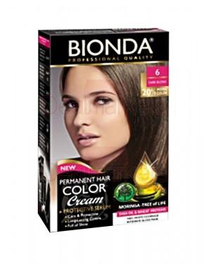 Βαφή μαλλιών μόνιμη Bionda Professional No6