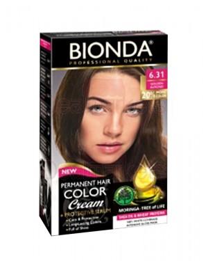 Βαφή μαλλιών μόνιμη Bionda Professional No6.31
