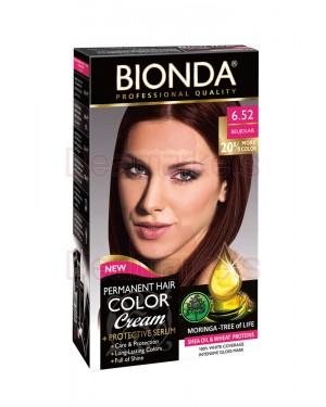 Βαφή μαλλιών μόνιμη Bionda Professional No6.52