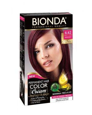 Βαφή μαλλιών μόνιμη Bionda Professional No6.62