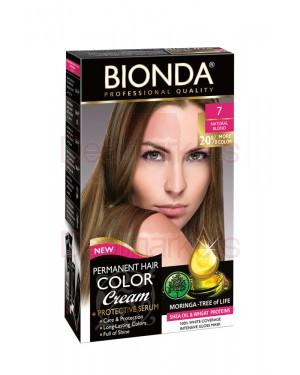 Βαφή μαλλιών μόνιμη Bionda Professional No7