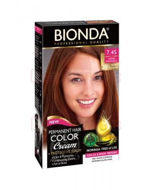 Βαφή μαλλιών μόνιμη Bionda Professional No7.45