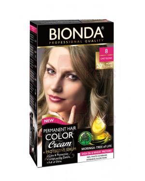 Βαφή μαλλιών μόνιμη Bionda Professional No8