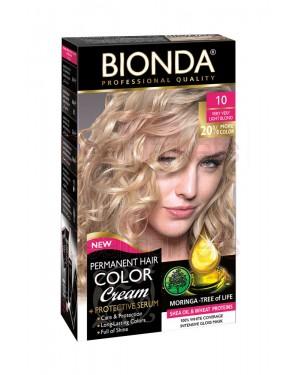 Βαφή μαλλιών μόνιμη Bionda Professional No10