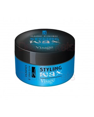 Visage κερί μαλλιών styling wax hard finish 150ml
