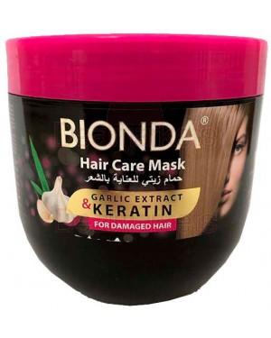 Bionda professional μάσκα μαλλιών με κερατίνη και σκόρδο 1000ml