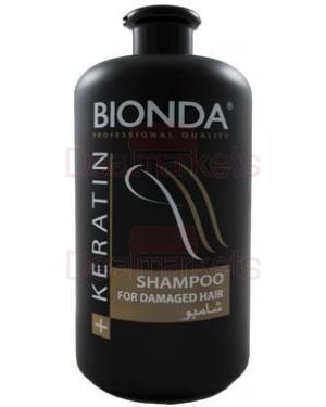 Bionda professional σαμπουάν για κατεστραμμένα μαλλιά με κεράτινη 1l