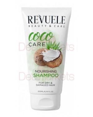 Revuele coco care σαμπουάν θρέψης με έλαιο καρύδας για ξηρά/ταλαιπωρημένα μαλλιά 200ml