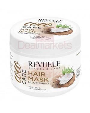 Revuele coco care μάσκα μαλλιών με έλαιο καρύδας για ενυδάτωση & ενδυνάμωση 300ml