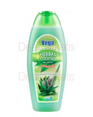 Vega σαμπουάν αloe vera & τσάι 500ml