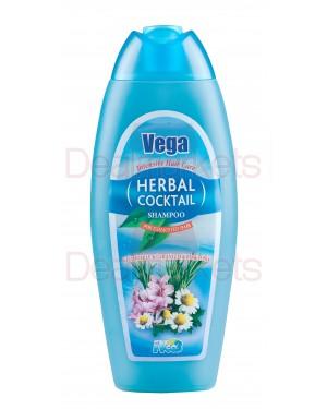 Vega σαμπουάν χαμομήλι-γεράνι& δεντρολίβανο 500ml