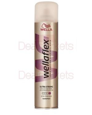 Wellaflex λακ μαλλιών ultra strong no5 400ml